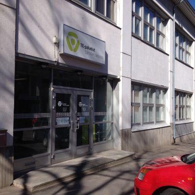 Arbets- och näringsbyrån i Ekenäs.