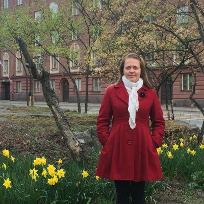 Johanna Lepola har tvåspråkiga barn som talar svenska och bulgariska.