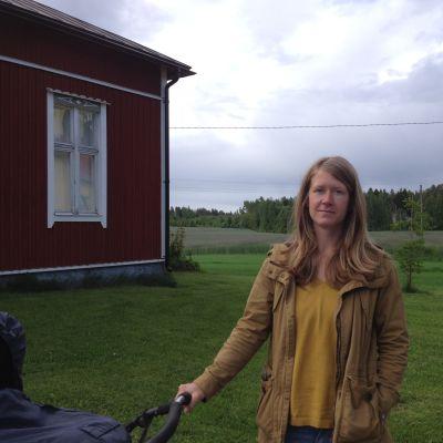 Sara Wilson, vice ordförande i Backgränd hembygdsförening.