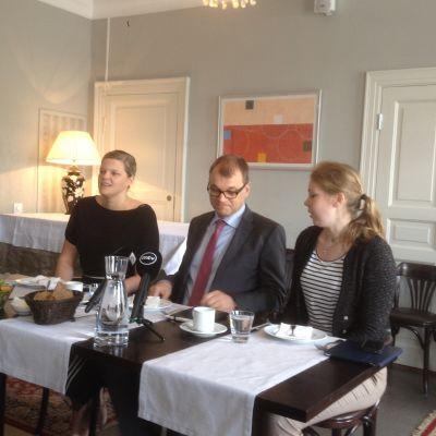 Politiska journalisternas lunch 16.6.2015