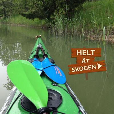 Kanot i Helt åt skogen