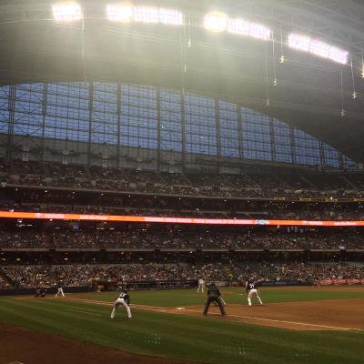 Baseballmatch i USA
