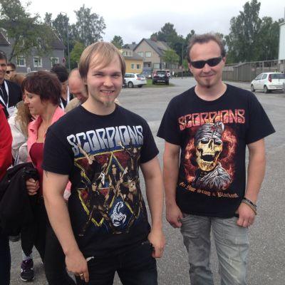 Toni Kokko och Mika Haahtikari från Uleåborg.