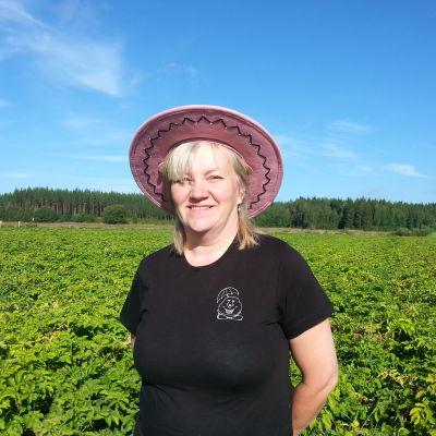 Susan Englund från intresseföreningen Dagsmark Potato