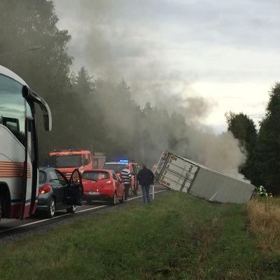 Trafikolycka i Raseborg
