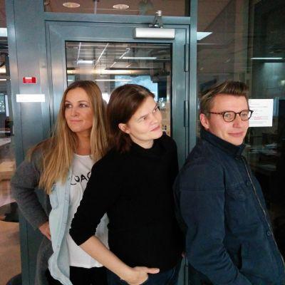 Anne Hietanen, Silja Sahlgren-Fodstad, Petter Lindberg