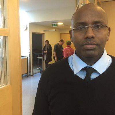 Abdullah Sultan är aktiv inom biståndsorganisationen Finndevo International