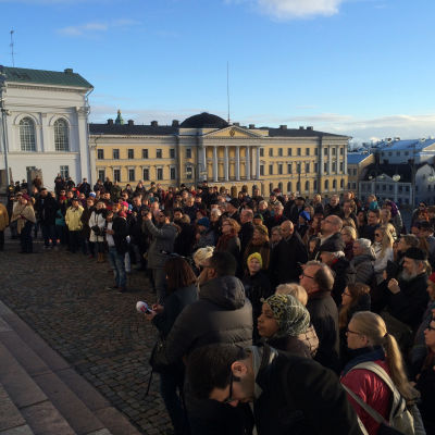 Fredsmarsch i Helsingfors
