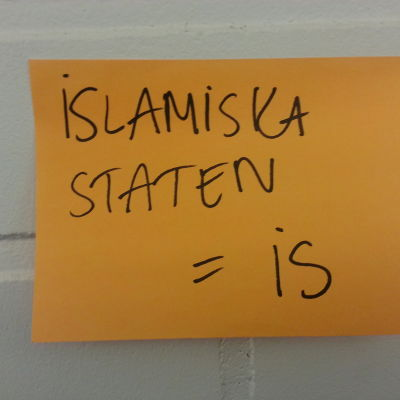 Lapp med namnet islamiska staten