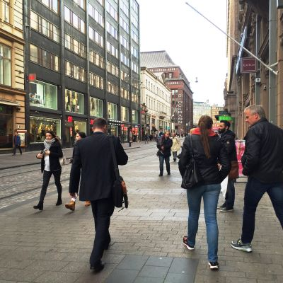 Människor på Alexandersgatan