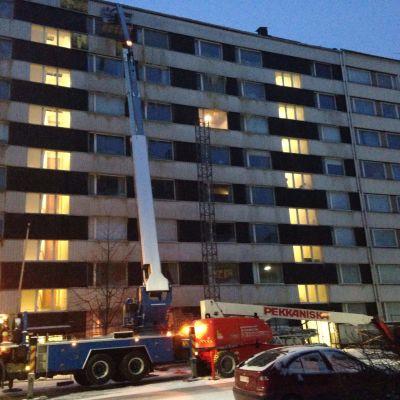 Höghus på Ursinsgatan 14 i Åbo.