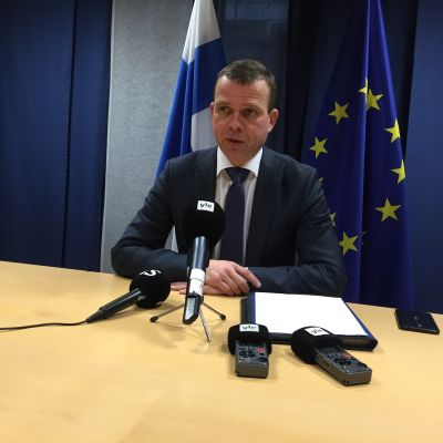 Orpo på ministermöte i Bryssel