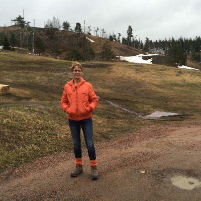 Regina Kalenius från karis Ura arrangerar FinnnSpring i Åminnefors 2016.