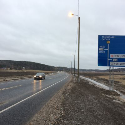 Omfartsvägen i Salo öppnades för trafik.