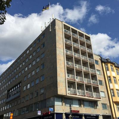 Talo Helsingissä Satakuntalainen Osakunta