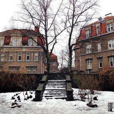 En terrass i Eira ska döpas efter Georg Henrik von Wright för att han bodde där