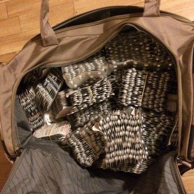 Subutextabletter smugglades i resväskor.