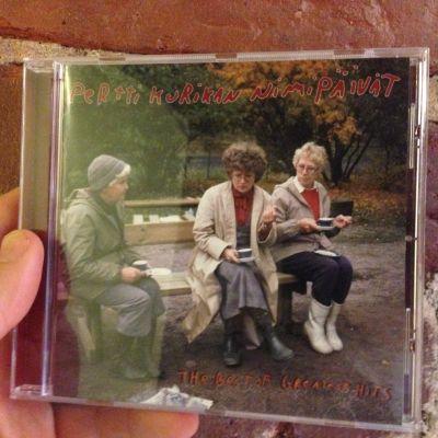 Pertti Kurikan nimipäivät cd-skiva.