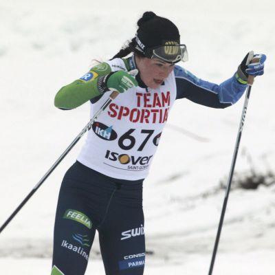 Krista Pärmäkoski åker i finska cupen i Rovaniemi