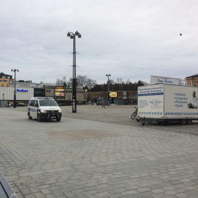 Kuopion tyhjä Kauppatori