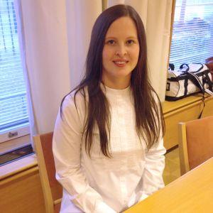 Kandidat nummer 10, Nicoline Rydgren från Sibbo.