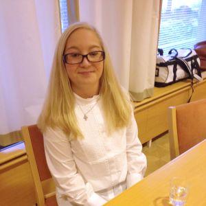 Kandidat nummer 5, Ida Kallström från Åbo