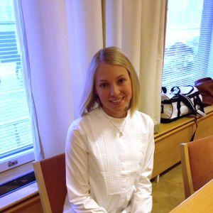 Kandidat nummer 6, Frida Granqvist från Esse.