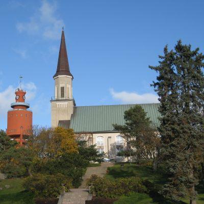 Kyrkparken i Hangö