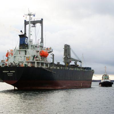 Fraktfartyget Nordana Andrea.