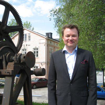 Olli Muurainen vill göra Billnäs bruk till Finlands modernaste bruk.