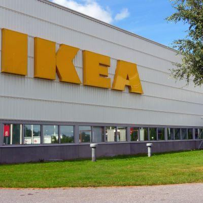 Ikeas vruhus i Esbo.