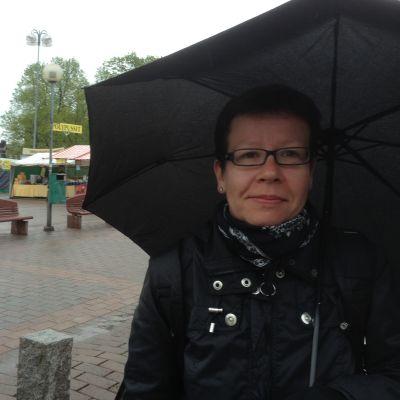 Museilektor Hannele Tenhovuori