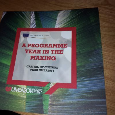 Programboken för alla evenemang under Umeå2014.