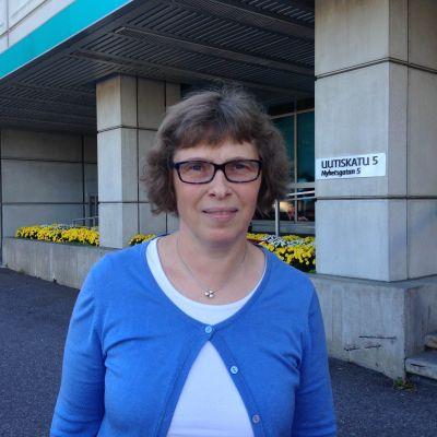 Lena Jolkkonen från Unicef