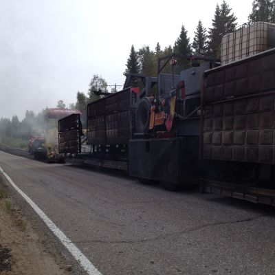 Vägen mellan Härkmeri och Sideby får ny beläggning