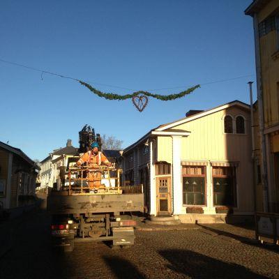 Julbelysning i gamla stan