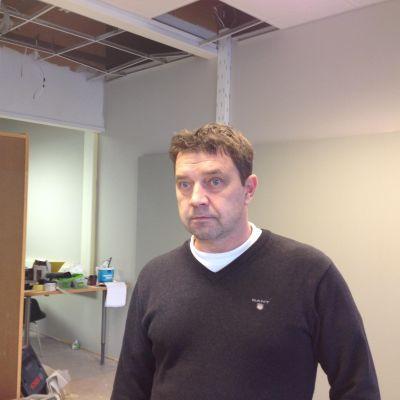 Raseborgs stads fastighetschef Kjell Holmqvist.