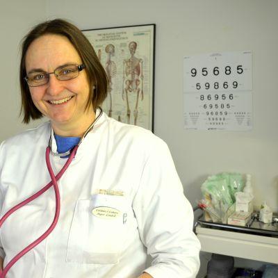 Inger Lindell är läkare vid Mårtensdals hälsostation.