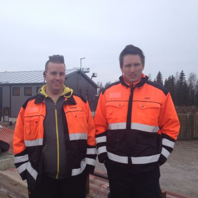 Rasmus Sigg och Jens Lundén