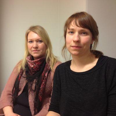 Camilla Khalili och Lena Skrifvars