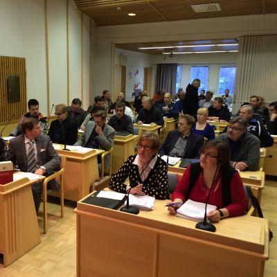Kittilän kunnanvaltuuston kokous 17.11.2014
