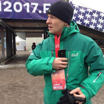 Toni Nieminen Salppurin kisoissa.