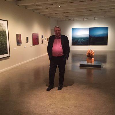 Vexi Salmi Lappeenrannan taidemuseossa.