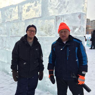 Sami Kämppi ja Feodor Markov.