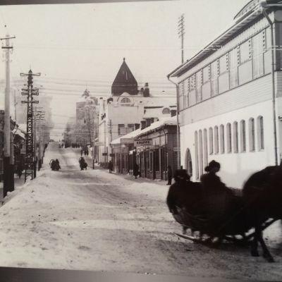 Kuopion Kauppakatu 1920-luvulla