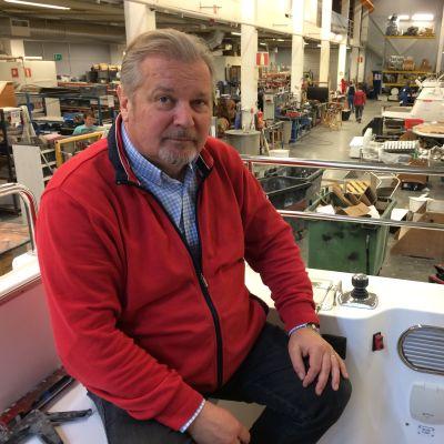 Linex-Boatin toimitusjohtaja Olli Lindkvist