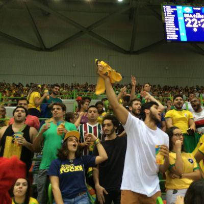 Brasilialaisfaneja Riossa
