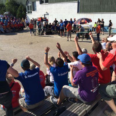 Mölkyn MM-kisat Lahti 2014, yleisö kannustaa