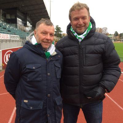 Robert Söderdahl ja Sverker Skogberg IFK Mariehamn