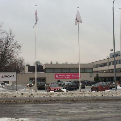 Savonia-ammattikorkeakoulun Opistotien kampus